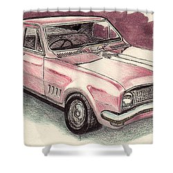 Hg Holden Ute Shower Curtain