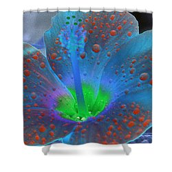 Hibiscus - After The Rain - Photopower 775 Shower Curtain