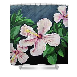 Hibiscus No. 1 Shower Curtain