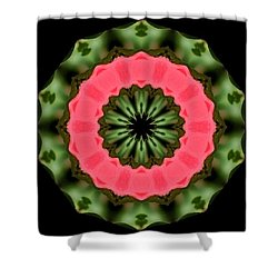 Hibiscus Reimagined Shower Curtain