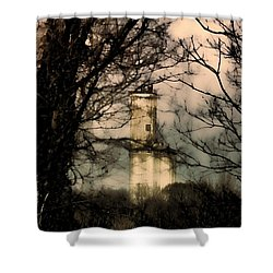 Hidden In Montgomery II Shower Curtain by Lesa Fine