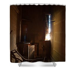 Shower Curtain featuring the photograph Hidden In Shadow by Fran Riley