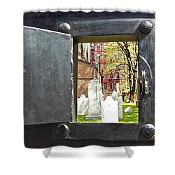 Shower Curtain featuring the photograph Hidden New York by Joan Reese
