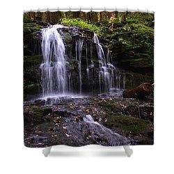 Hidden Waterfalls Of Wayne County I Shower Curtain