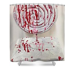 Hide In Your Shell Shower Curtain