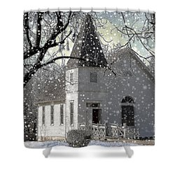 Higgensville Church Shower Curtain