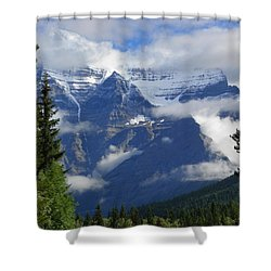 High Expectations Shower Curtain