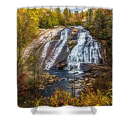 High Falls Shower Curtain by John Haldane