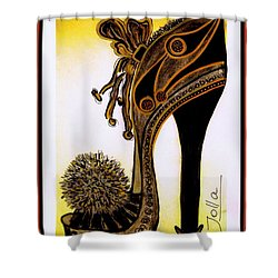 High Heel Heaven Shower Curtain