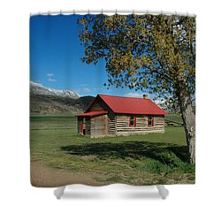 High Lonesome Ranch Shower Curtain by Jerry McElroy