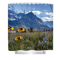 High Plains Shower Curtain
