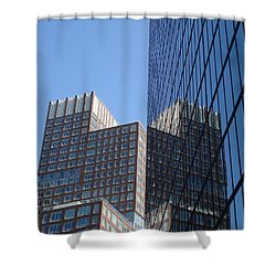 High Rise Reflection Shower Curtain