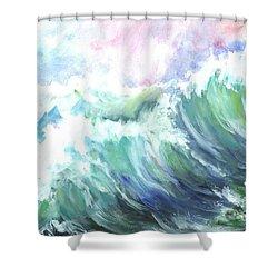 High Seas Shower Curtain by Carol Wisniewski