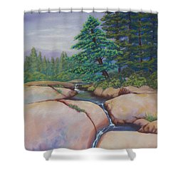 High Sierras Shower Curtain