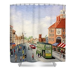 High Street Shower Curtain