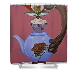 High Tea Shower Curtain