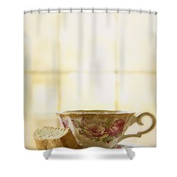 High Tea Shower Curtain