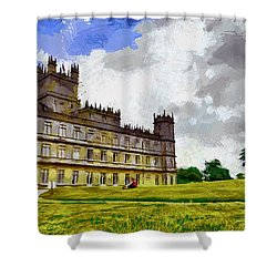 Highclere Castle Shower Curtain