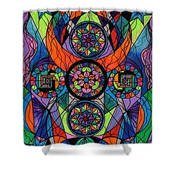 Higher Purpose Shower Curtain