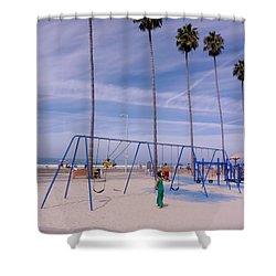 Shower Curtain featuring the photograph Higher  by Susan Garren