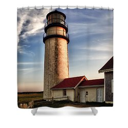 Highland Lighthouse Shower Curtain by Mark Papke