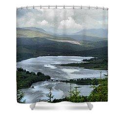 Highland Loch At Lochaber Shower Curtain