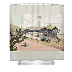 Highland Park - Bare Bones Shower Curtain