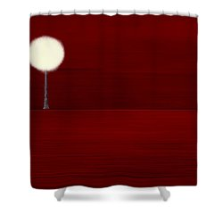 Highlighted Trees 02 Shower Curtain by Aimelle