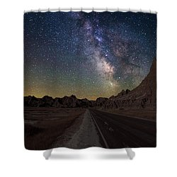 Highway To Shower Curtain