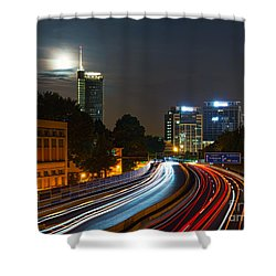 Highway To Essen Shower Curtain