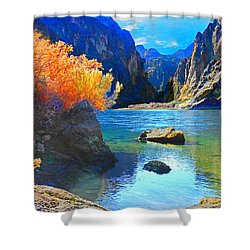 Hikers Haven Two Shower Curtain