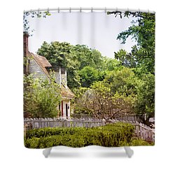 Hill Cottage Shower Curtain
