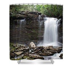 Second Fall Of Hills Creek Shower Curtain