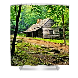 Hillbilly Heaven Shower Curtain by Frozen in Time Fine Art Photography