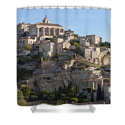 Hilltop City Shower Curtain by Bob Phillips