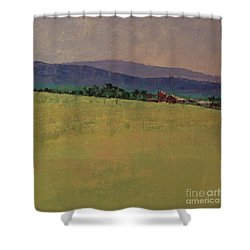 Hilltop Farm Shower Curtain