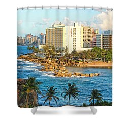 Hilton Conrad Shower Curtain