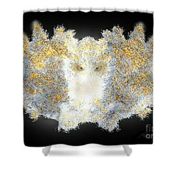 Hint Of Owl Shower Curtain