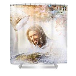 His Joy Shower Curtain
