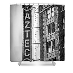 Historic Aztec Theater Shower Curtain by Melinda Ledsome