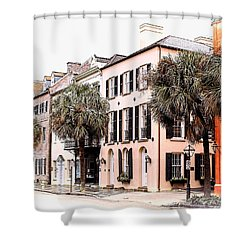 Historic Charleston Shower Curtain