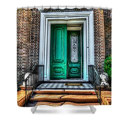 Historic Charleston Sc Door Shower Curtain