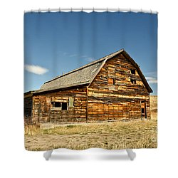 Shower Curtain featuring the photograph Historic Community Hall by Sue Smith