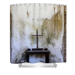 Historic Hope Shower Curtain by Laurie Perry