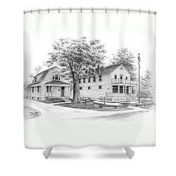 Historic Jaite Mill - Cuyahoga Valley National Park Shower Curtain