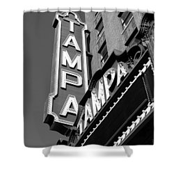 Historic Tampa Shower Curtain