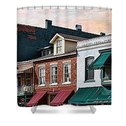 Historic Weston Shower Curtain by Liane Wright