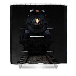 Historical 765 Steam Engine Shower Curtain