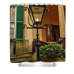 Historical Gas Light Shower Curtain