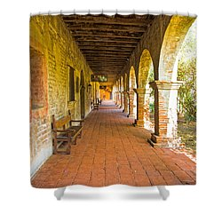 Historical Porch Shower Curtain